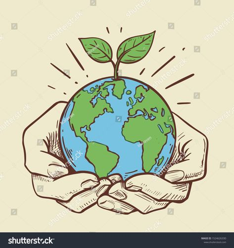 girls holding planet earth illustration #Ad , #ad, #holding#girls#planet#illustration