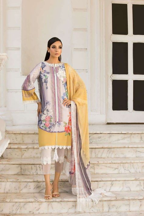Sobia Nazir Vital Design 1A Restocked₹4,000https://www.thefashionstation.in/product/sobia-nazir-vital-design-1a/Sobia Nazir Vital - 100% Original Guaranteed     Printed lawn front back and sleeves  Dyed trouser  Printed Blend chiffon dupatta  Embroidered patches        SHIPPING TIME    All orders will be dispatched after stock landing date in India : 20 JUNE 2019 . Pre-Paid Orders are dispatched first on priority followed by Cash on Delivery Orders.    CARE INSTRUCTIONS  Dry Clean