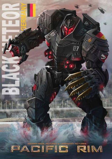 Pacific Rim - German Jeagar, Black Meteor.