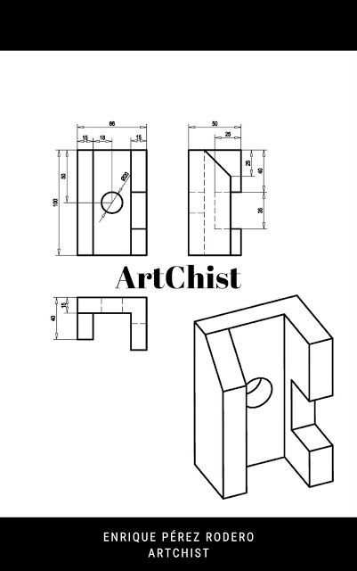 Ejercicios De Autocad 2d Y 3d Conceptos Basicos Linea Circunferencia Recorte Simetria Copiar Autocad Planos Autocad Vistas Dibujo Tecnico