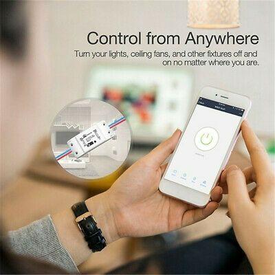 Ad Ebay Link Controller Module Timer Breaker Wifi Smart Switch Diy Wireless Remote Control Smart Switches App Remote Wifi