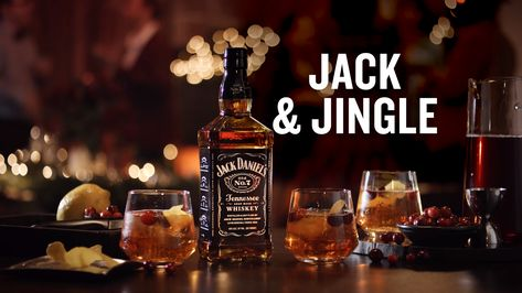 Enjoy a drink that's more fun that a one-horse open sleigh. Combine 1 oz of Jack Daniel's®, 5 oz of Winter Spiced Cranberry Sprite®, 1/2 oz of Aperol®, and a splash of cranberry juice. Then, enjoy with friends and family