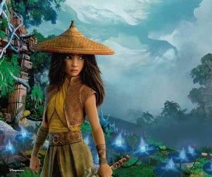 Official poster of the next Disney princess - Raya and The Last Dragon