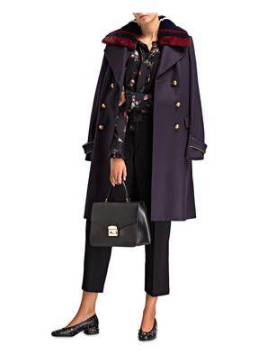 Classic Chic Fur Damen Online Kaufen Breuninger Damen Mantel Rot Modestil