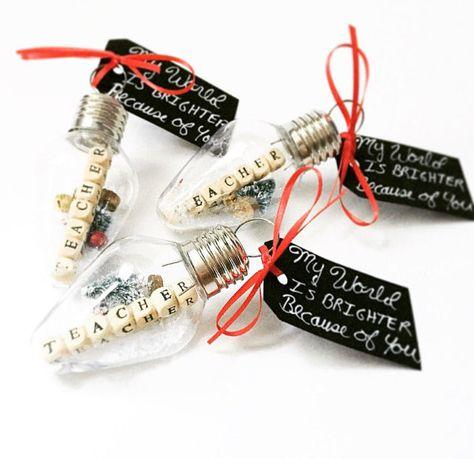 Diy christmas gifts for teachers pinterest