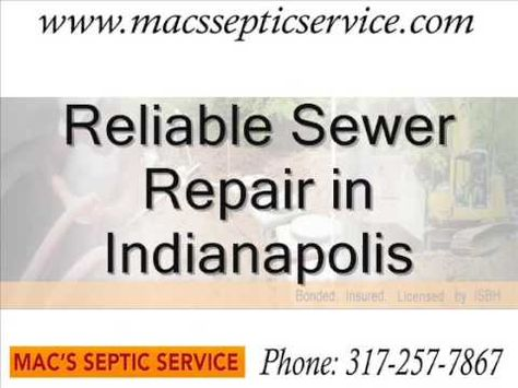 Http Www Macssepticservice Com Trust The Reliable Residential And Commercial Septic And Sewer Service Experts Sewer Line Repair Sewer Repair Drain Repair