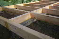 Unterkonstruktion Ohne Metallwinkel Gartenhaus Unterkonstruktion Gartenhaus Gartenhaus Bauen