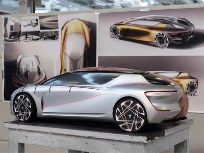 Volkswagen E-Motion concept by Nian Koukou VW Pinterest - alu dibond küchenrückwand erfahrung