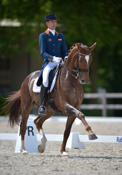 Olympic Games 2016 Hans Peter Minderhoud and GLOCK's Flirt admitted to the Olympia squad