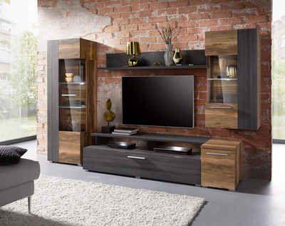 Wohnwand Kaufen Schrankwand Anbauwand Otto Wohnen Tv Wandgestaltung Wohnzimmer Tv Wand Ideen