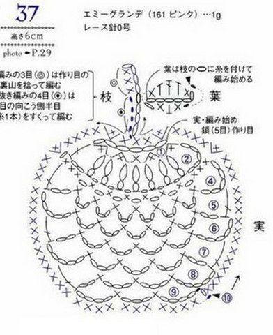 ягоды крючком вязаная ежевика вязаная малина