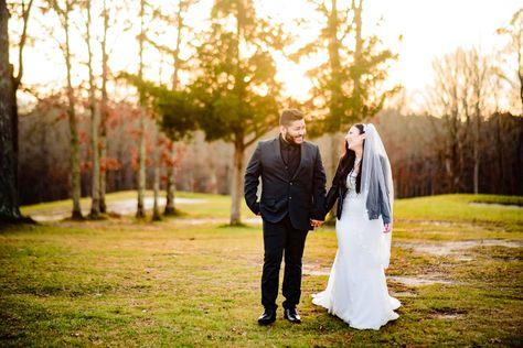 #weddingpictures #weddingpictureideas #weddingphotos #sunsetpictures #leatherjacket #bride #groom #golfcoursewedding #winterwedding #fallwedding #newlywedportraits #newlywedpictures #weddingdress #weddingveil #bridal #groomswear #groom #blacksuit #sunsetphotos #weddingday #weddingphotography #rusticwedding #rusticvenue #njwedding #njbride #pinetrees #winterphotos #ronjaworskiweddings #blueheronweddings #golfcoursewedding #ido #weddinginsportation Photo: Devon, Inspire Photos