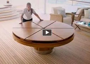Expandable Round Dining Table  Part 3