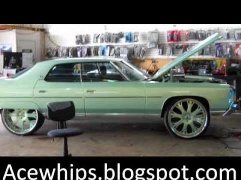"Outrageous Paint 71"" donk on 26"" asanti (4 door) outrageous paint - youtube 