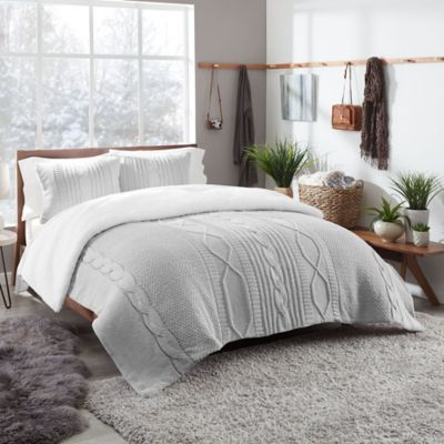 Ugg Sloanne Reversible Duvet Cover Set Bed Bath And Beyond Canada Beautiful Bedding Sets Comforter Sets Duvet Cover Sets
