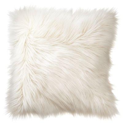 Fur Toss Pillow Target 19 99 Love The Texture Affordable Decor