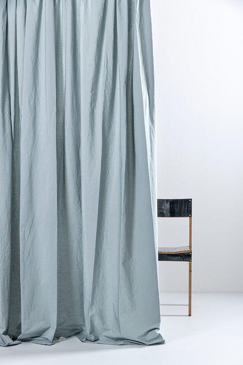 Weiss Ägyptische Baumwolle Fertigvorhänge 300cm Breite