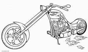 Free Printable Motorcycle Coloring Pages For Kids Coloring Pages