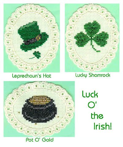 Silhouette Patrick pot with gold holiday Saint Patrick/'s Day celebration Counted Cross Stitch Pattern  Instant Download Epattern PDF File
