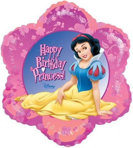 Princess Snow White Birthday Balloon Snow White Birthday Happy Birthday Princess Disney Princess Snow White