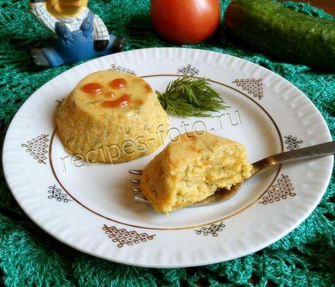 рецепт овощного суфле для годовалого ребенка