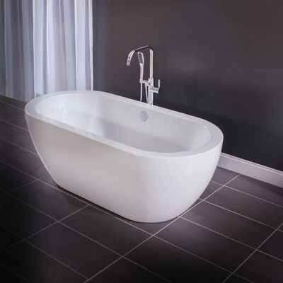Miseno Mtf194 Floor Mounted Tub Filler With Integrated Valve And