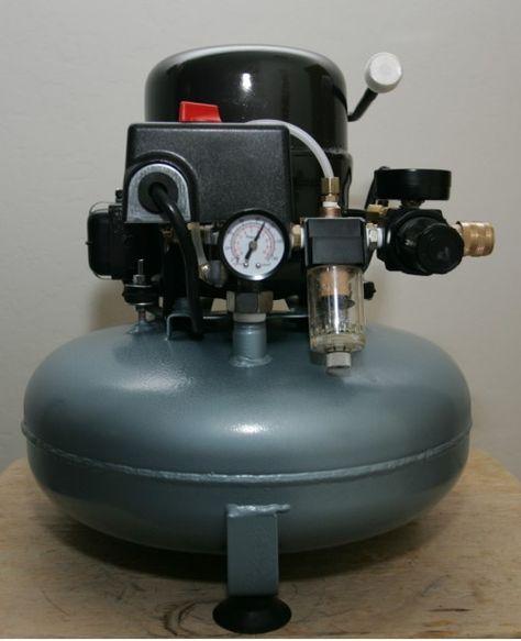 Diy Silent Compressor Compressor Woodworking Homemade Tools