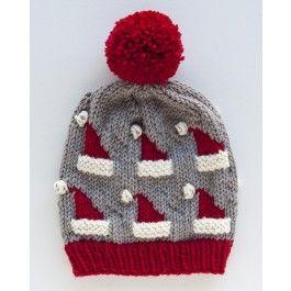 Ewe Ewe Yarns Dancing Santa Hats Kit Crochet Christmas Hats Christmas Knitting Patterns Hat Pattern