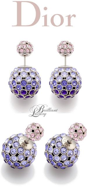 Brilliant Luxury * Dior Earrings 2015. I can't get enough of the Tribal earrings. I love mine.