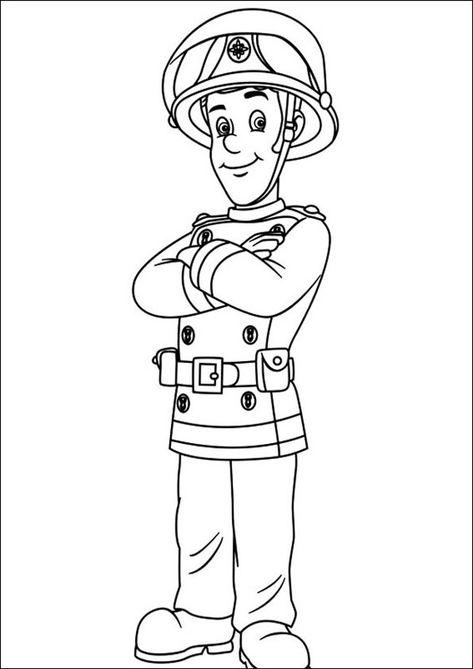 Feuerwehrmann Sam Zum Ausmalen 11 Ausmalbilder Feuerwehrmann Sam Ausmalbilder Feuerwehrmann Sam