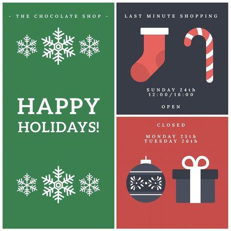 present Happy Holidays! Speciaal voor...
