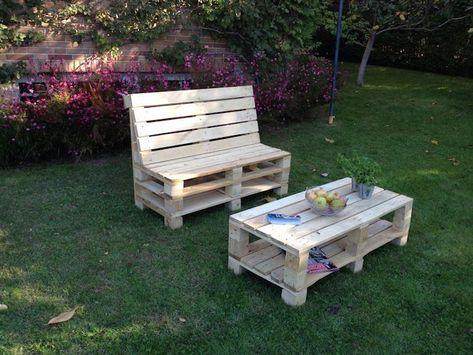 ▷ 1001 + idées pour créer un beau salon de jardin en palette | ogród