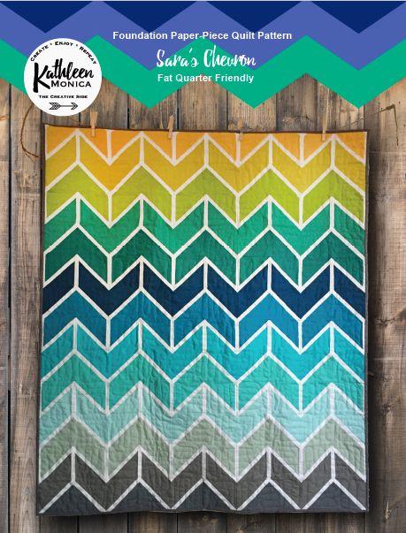 Sara's Chevron Quilt Pattern - Digital Download