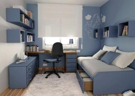 Jolie Deco Chambre Ado Garcon Bleu Gris Deco Chambre Ados Bleu