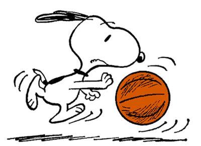 Snoopy On The Basketball Court スヌーピーの壁紙 スヌーピー イラスト スヌーピー