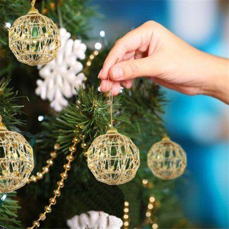 36+ Glitter xmas tree decorations inspirations