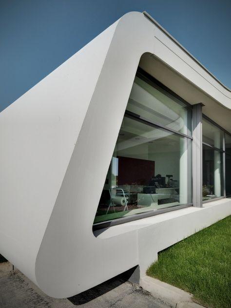 Gazoline Petrol Station by Damilano Studio Architects