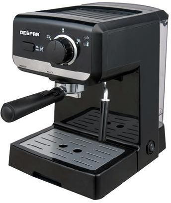 ماكينة اسبريسو مسحوق أسود Cappuccino Maker Coffee Machine Best Coffee