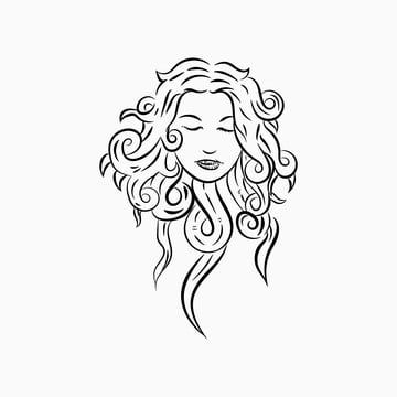 Woman Face Png Images Vector And Psd Files Free Download On Pngtree Woman Face Woman Face Silhouette Logo Design Free Templates