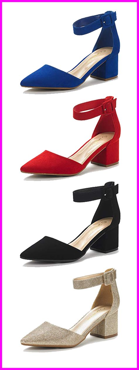 cee039fdf DREAM PAIRS Women s Low Heel Pumps  igshop  shop  hkigshop  onlineshop   onlineshopping