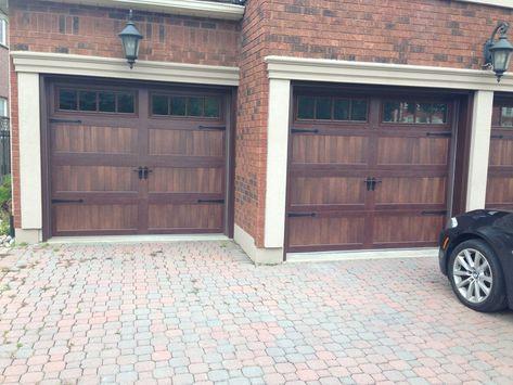 C H I Aurora Overhead Door Overhead Door Doors Wood Garage
