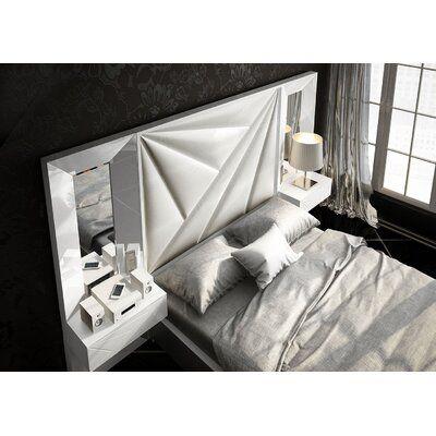 Orren Ellis Helotes 5 Piece Bedroom Set Wayfair Bedroom Bed Design Bed Headboard Design Bed Back Design