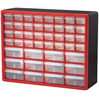 Akro-Mils 64 Drawer 10164 Plastic Parts Storage Hardware and Craft Cabinet 20...