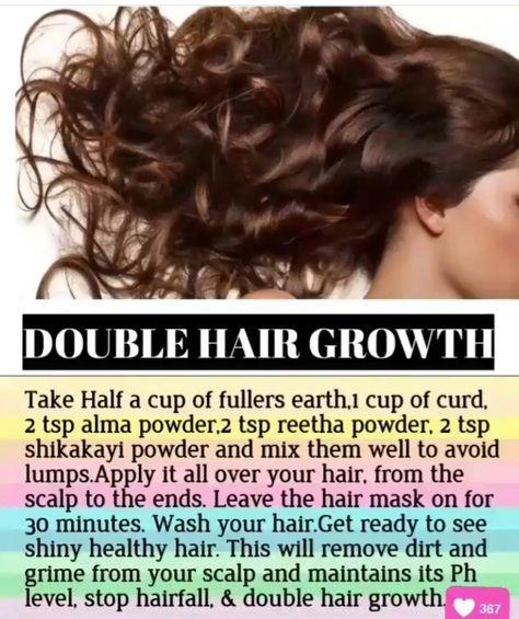 Double Hair Growth Hair Mask
