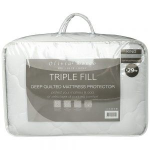 EXTRA DEEP 30CM Deep SOFT NEW QUILTED// FITTED BED COVER// MATTRESS PROTECTOR