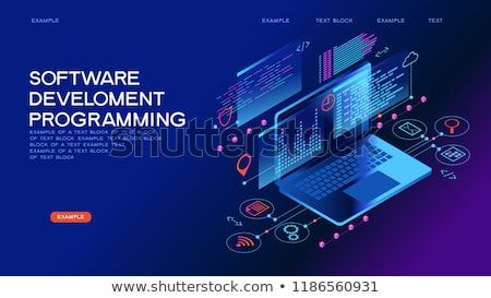 Technology Concept Programming Web Banner Best Programming Languages Technology Process Of Software Devel Web Banner Technology Posters Software Development