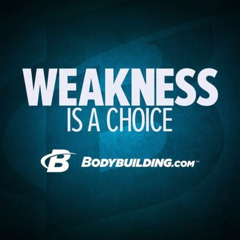 You can let you weakest points define you or you can accept them and strengthen them. It's your choice.