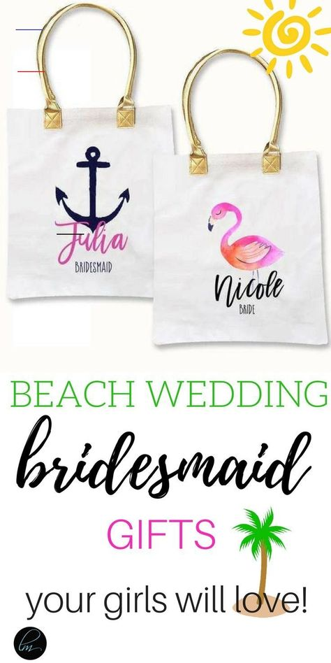 Tropical Theme Beach Tote Bag Bridesmaid tote bag. Bridesmaid proposal. These bridesmaid tote bags are perfect for your beach wedding. They are soooo cute! #willyoubemybridesmaid #bridesquad #bridesmaidproposal #bridesmaid<br> You just may love our tropicalthemed tote bags if you are getting married on the beach. These adorablebagsare a cute addition foryour tribe and are perfect for your bridesmaid proposal or as thank you gifts. Each canvas bag is custom printed with your choice of four go