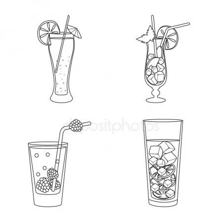 vector illustration of beverage and ice symbol set of beverage and shaker vecto affiliate beverage ice vector vector illustration illustration vector pinterest