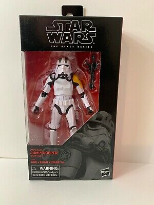 "Hasbro Star Wars The Black Series 6/"" Imperial Jumptrooper Action Figure in stock"